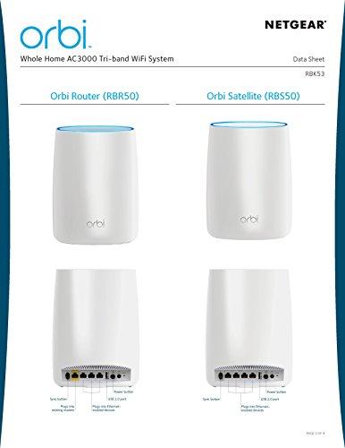 Netgear Orbi Wifi System Ac Routers