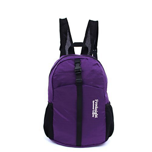 20L/35L Most Durable Packable Hiking Backpack Ultra Lightweight Water Resistant Backpack Handy Travel Pack+ For Men and Women (Purple, 20L)
