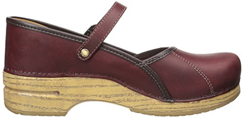 Dansko Womens Marcelle Clog Red Oiled