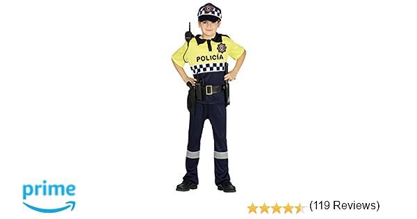 Guirca Disfraz policía local Talla 5-6 años 87508.0: Amazon.es ...