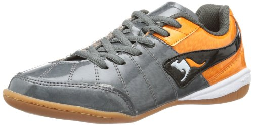 Grey Boys' Kangaroos Dark B Orange Gray Black Trainers Grau Divided Rqqpw0