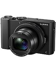 Panasonic Lumix High Speed F 1.4-2.8 Leica DC Lens, 1 inch sensor, 4K Video/Photo LUMIX Compact Camera, Black (DMC-LX10GN-K)