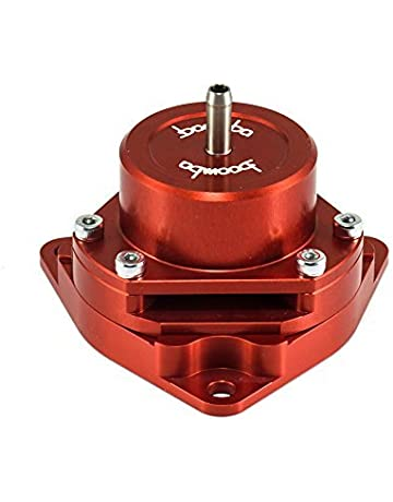 Boomba Racing Red Bolt-On Blow Off Valve BOV for 2016+ Honda Civic 1.5