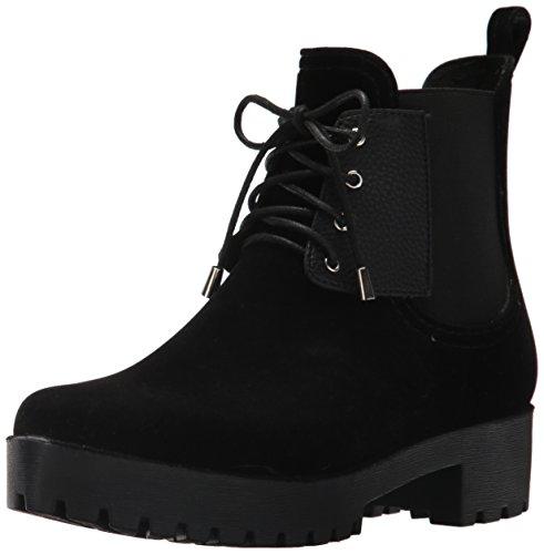 dav Boot Black Velvet Leeds Women's Lace Rain OTqOPpx