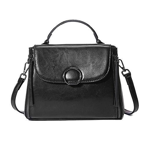 Capacity Large Hongge Bag Bag Shoulder Fashion E Tote Leather Leather Simple Handbag Bag Female gwqafpR