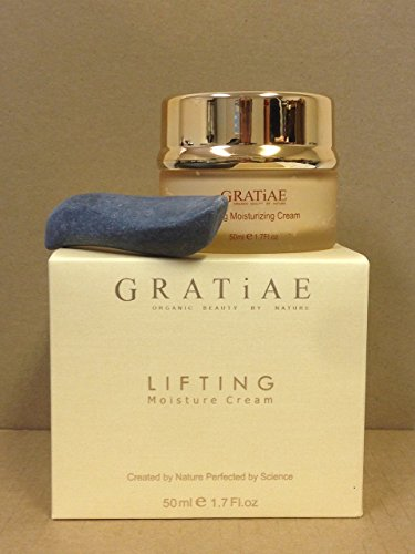 Gratiae Organics Lifting Moisture Cream with Volcanic Stone, 1.7 Ounce