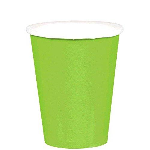Amscan Kiwi Green Paper Cups, 9 Oz., 20 Ct.