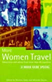 Rough Guide More Women Travel Adventures and Advice, Miranda Davies and Natania Jansz, 1858280982