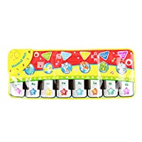 Musical Dance Mat Baby Early Education Music Piano Keyboard Play Mat Activity Gym Blanket Learn Singing Funny Toy Gift for Kids Toddlers