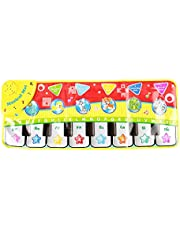 70 x 20 cm baby muzikale mat draagbare kinderen muzikale piano mat piano keyboard tapijt onderwijs deken
