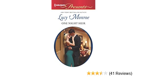 One Night Heir Lucy Monroe Pdf