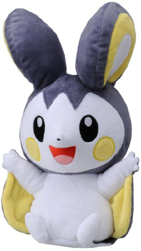 "Takaratomy Pokemon 12"" Emonga/Emolga Best Wishes Voice and Motion Activated Talking Plush"