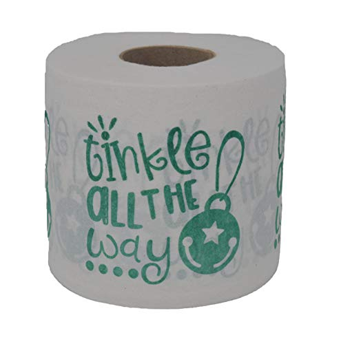 Merry Christmas Toilet Paper, Tinkle all the Way, Funny Gift, Prank, Bathroom Decor, Decoration, Xmas, Holiday, TP