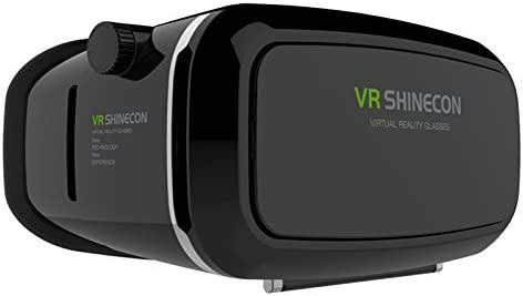 New Generation Vr Shinecon Virtual Reality Headset 3d Vr Glasses for 4~6 Inch Smartphones for 3d Movies and Games,Vr Box [並行輸入品]