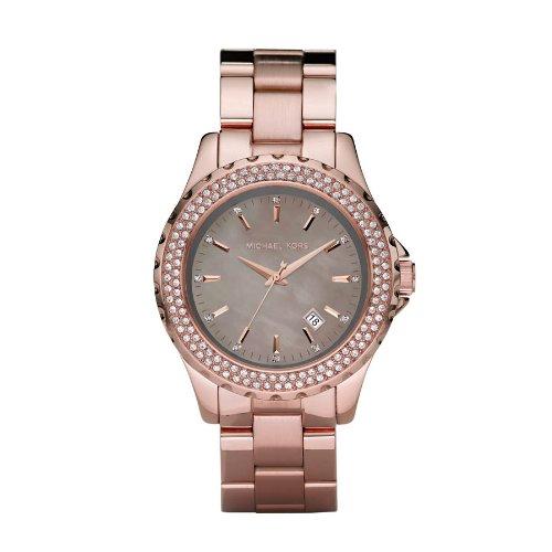 Michaël Kors MK5453 - Reloj analógico de mujer de cuarzo con correa de acero inoxidable rosa: Michael Kors: Amazon.es: Relojes