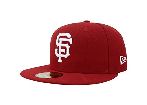 New Era Men's 59FIFTY? San Francisco Giants Red Hat 6 7/8
