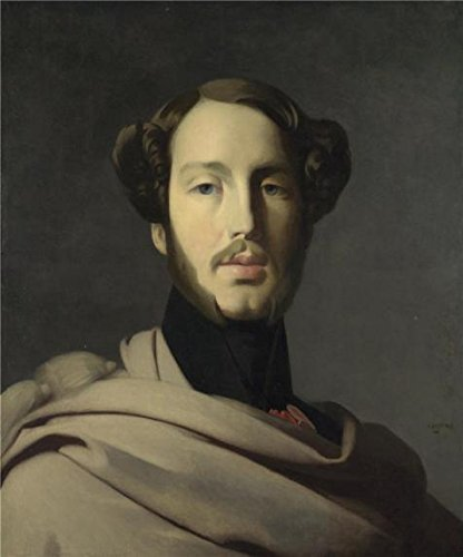 Oil Painting 'Jean-Auguste-Dominique Ingres-The Duc D' Orleans,19th Century', 20 x 24 inch / 51 x 61 cm, on High Definition HD canvas prints is for Gifts And Garage, Nursery And Study Room Decoration