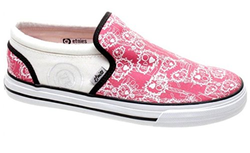 Etnies Skateboard Women´s Shoes Fakie Pink/Pink White Shoes
