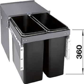 Abfalltrennsystem Küche | Blanco Blancoselect Econ 45 2 Abfalltrennsystem 2 X Amazon De