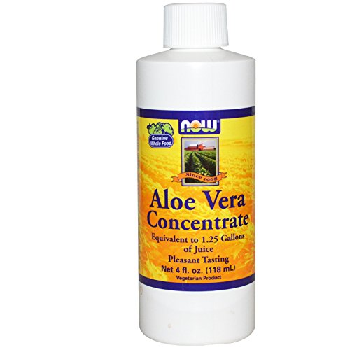 (Now Foods, Aloe Vera Concentrate, 4 fl oz (118 ml))