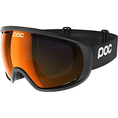 POC Fovea Clarity Goggles w. Extra Lens Uranium Black / Spektris Orange - Carl Goggles Zeiss