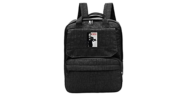 15ff1d4473a4 Amazon.com: WUHONZS Travel Backpack Al Pacino Scarface Poster Funny ...
