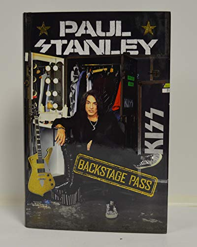 """PAUL STANLEY signed""""Backstage Pass"""" Hardcover Book FIRST EDITION (This NATIONAL BESTSELLER is autographed in BLUE)"""