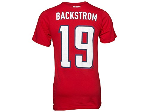Reebok Men's Washington Capitals Nicklas Backstrom Premier Player T-Shirt