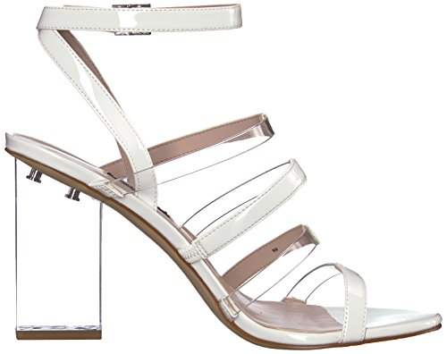 West Nine 25033497 White Fazzani Synthetic Womens H7x8Hq1w