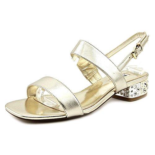 Dune London Women's Ninah Gold Leather Sandal 37 (US Women's 6) B (Dune Shoes)