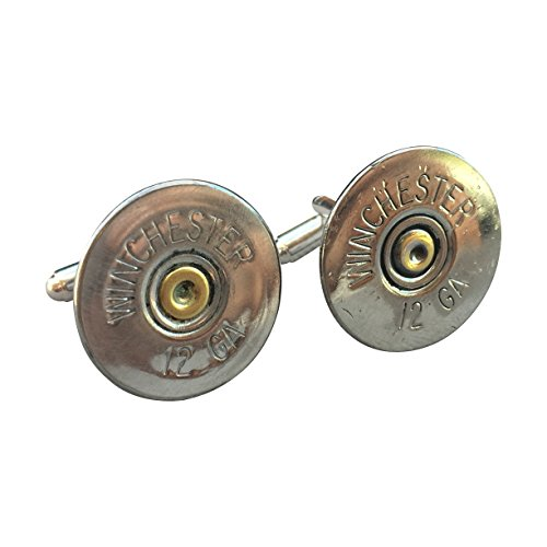 Ammo Gift Box Authentic Shotgun Shell Cufflinks