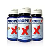 PROPEX Swedish Prostate Formula for Healthy Urination Frequency & Flow - 3 Bottle Offer