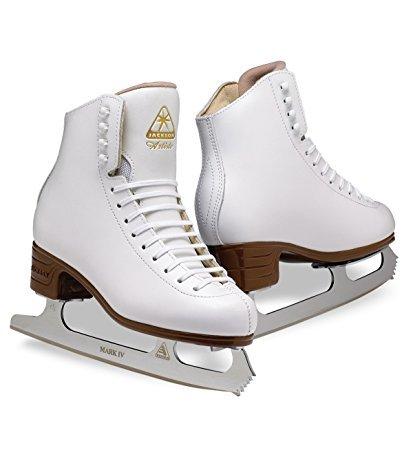 Jackson Ultima  Artiste JS1791 White Kids Ice Skates, Width C, Size - Leather Skates Jackson Figure