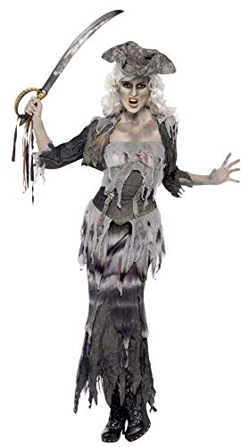 Smiffys Women's Plus-Size Ghost Ship Pirate Costume