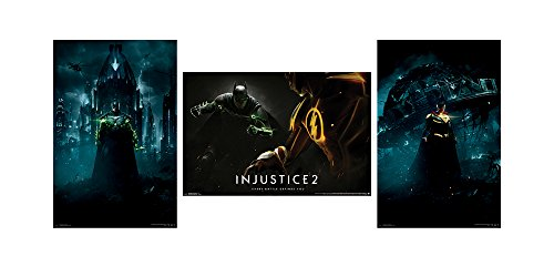 Trends International Wall Poster Injustice 2 Collector's Bundle, 22.375