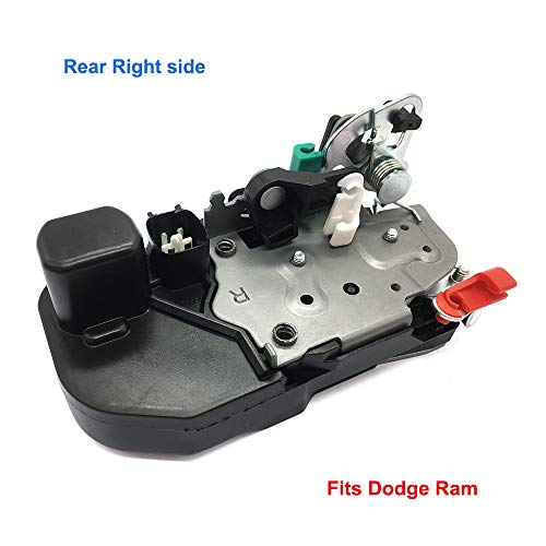 Rear Door Lock Actuator Right Side 931-645 for Dodge Ram 1500 2500 3500 Door Lock Latch Actuators Motor 55276794AC Passanger RR