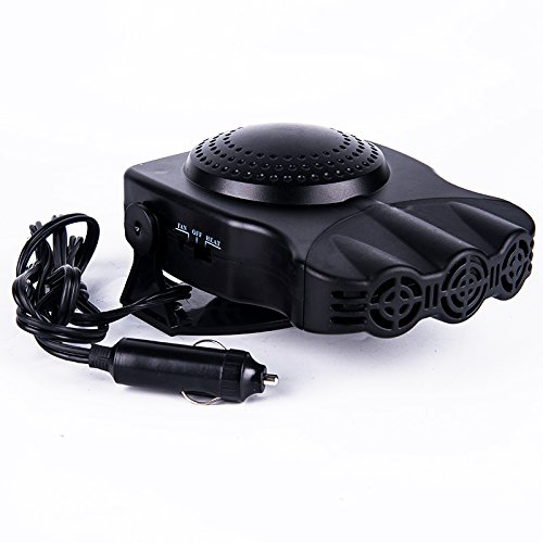 Car heaters 12v car electric heater with heater heater defrosting snow defogger: