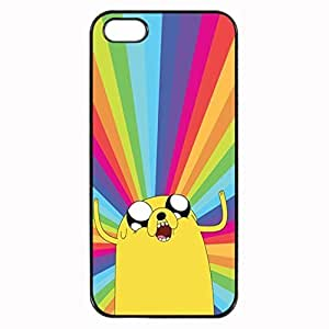 Jake - Adventure Time Custom Image Case iphone 4 case , iphone 4S case, Diy Durable Hard Case Cover for iPhone 4 4S , High Quality Plastic Case By Argelis-sky, Black Case New