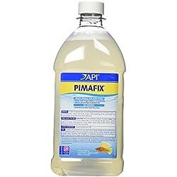 API PIMAFIX Antifungal Freshwater and Saltwater Fish Remedy 64-Ounce Bottle