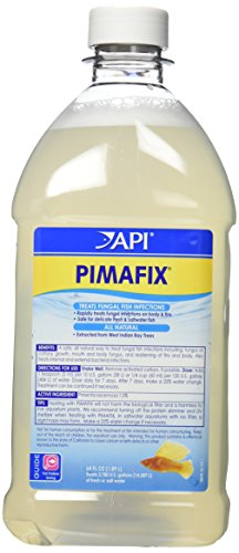 API PIMAFIX Antifungal Freshwater and Saltwater Fish Remedy 64-Ounce Bottle
