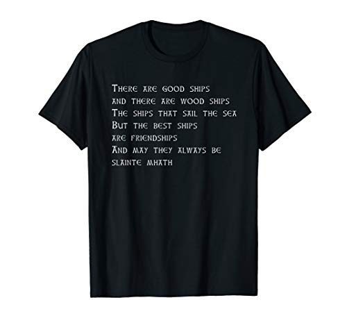 Scotch Whisky Friendship Toast T-Shirt for Whisky Drinkers