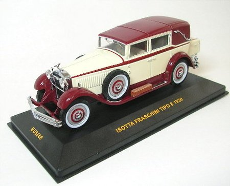 isotta-fraschini-tipo-8-1930-beige-brown-1-43-scale-diecast-model