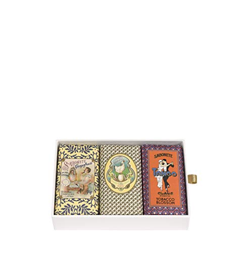 Claus Porto GiftBox Classico Collection- Set Of 3, 3 X 5.3 Ounce ()