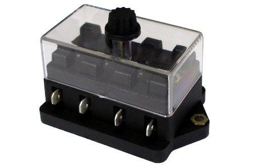 WirthCo 30110 Battery Doctor ATO/ATC Fuse Block with Cover 4 Position