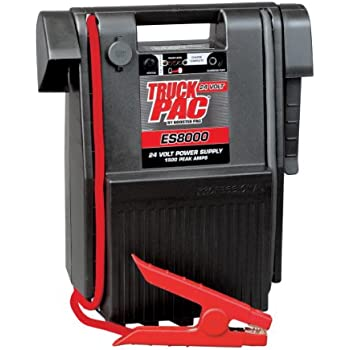 Jump N Carry Jnc660 >> Amazon.com: Truck PAC ES8000 1500 Peak Amp 24V Jump ...