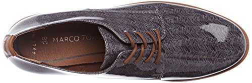 Zapatos Oxford 23203 Grey Tozzi Str Marco Pc Gris de Cordones Mujer para 7wHSgEq