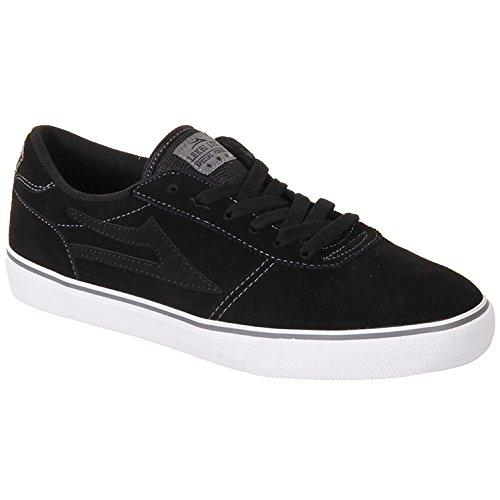 Lakai Manchester Noir/gris pour chaussures en daim