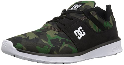 Image of DC Shoes DC Men's Heathrow SE Skate Shoes Skateboarding, Black/Camo, 7 D US
