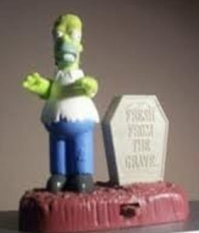 Burger King 2001 the Simpsons Spooky Light-ups #6