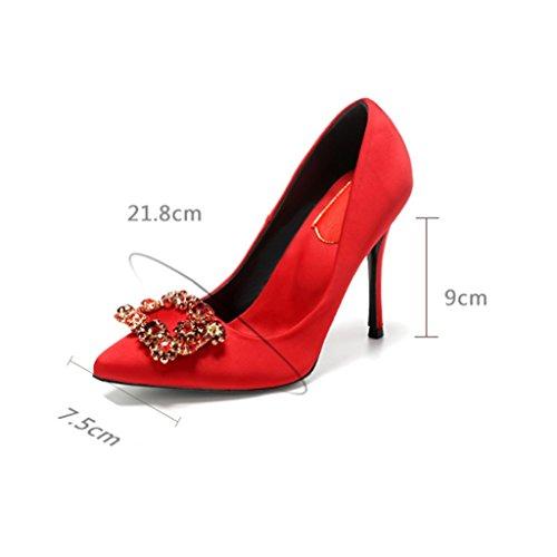 Mode Kleid Hoch Handarbeit Für die auf Party Hochzeit Damen Extrem Schuhen Sunny qFxzt47